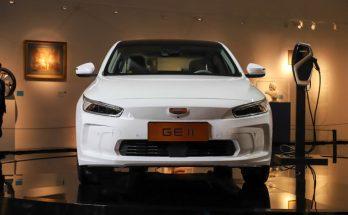Geely Unveils GE11 Electric Sedan 2