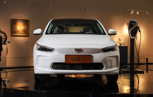 Geely Unveils GE11 Electric Sedan 1