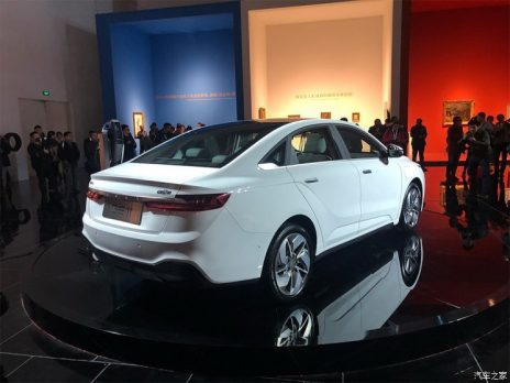 Geely Unveils GE11 Electric Sedan 7