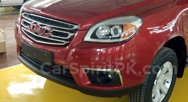 JAC T6 Arrives at Ghandhara Nissan Plant 1
