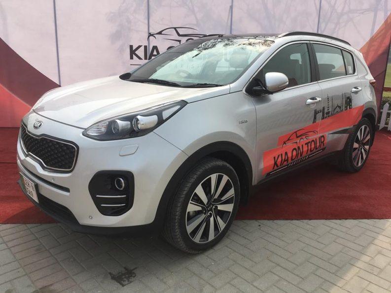 Kia to Launch Sportage SUV in Pakistan 2