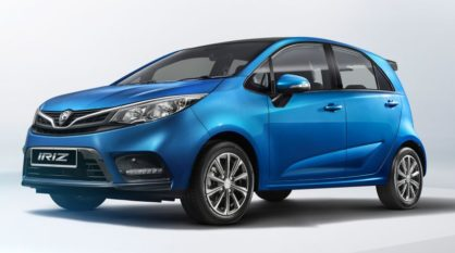 Proton Unveils the 2019 Iriz Facelift 2