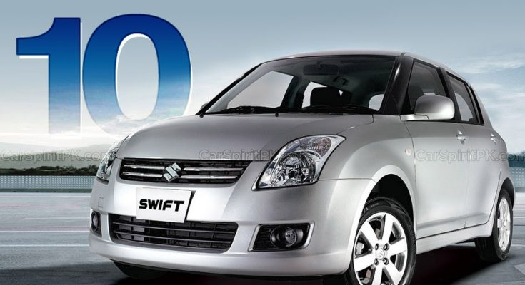 Pak Suzuki Swift Enters 10th Year of Production in Pakistan 1