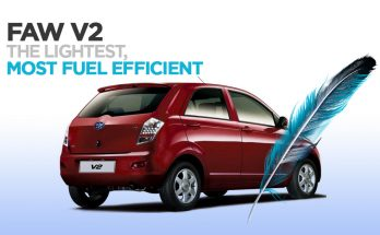 FAW V2 is the Lightest and Most Fuel Efficient in Its Class 2