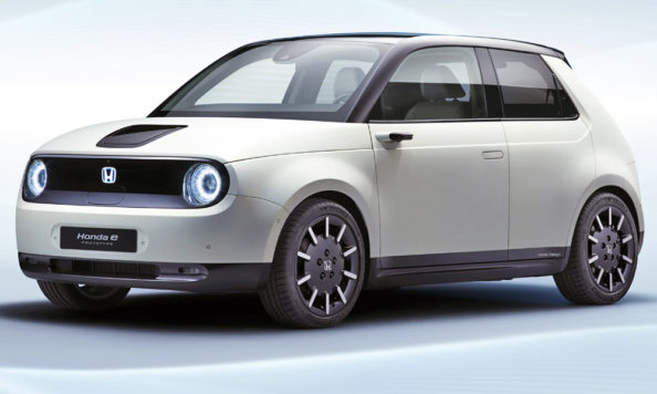 Honda E Prototype (Urban EV) Revealed Ahead of Geneva Debut 1