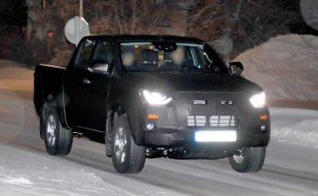Next Generation Isuzu D-Max Spied Testing 9