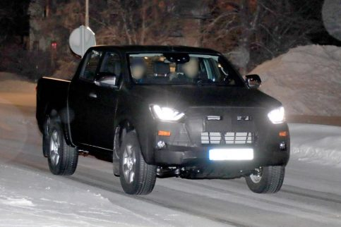 Next Generation Isuzu D-Max Spied Testing 3