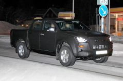 Next Generation Isuzu D-Max Spied Testing 5