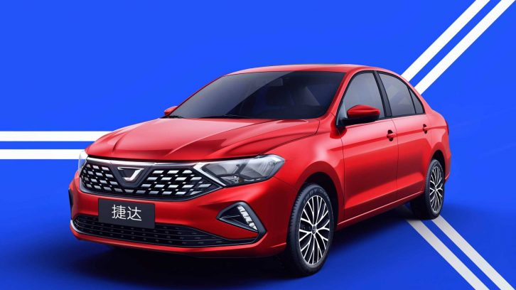 Jetta Becomes an Independent Brand in China 5