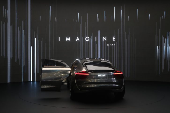 Kia Unveils Imagine Concept at Geneva 8