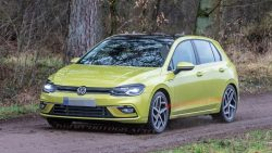 2020 Volkswagen Golf Spotted Undisguised 1