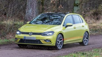 2020 Volkswagen Golf Spotted Undisguised 4