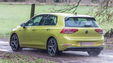 2020 Volkswagen Golf Spotted Undisguised 4