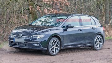 2020 Volkswagen Golf Spotted Undisguised 5