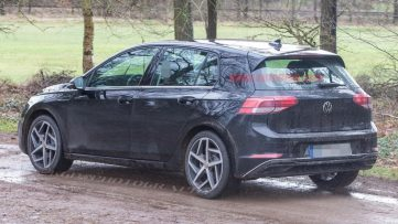 2020 Volkswagen Golf Spotted Undisguised 8