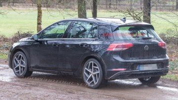 2020 Volkswagen Golf Spotted Undisguised 6