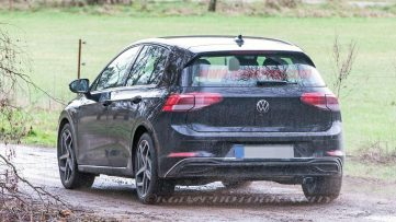 2020 Volkswagen Golf Spotted Undisguised 9