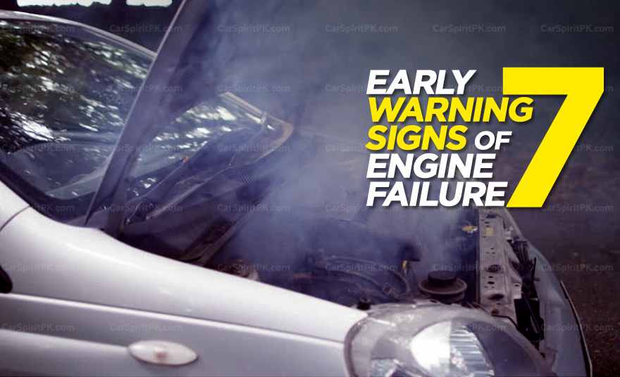 7 Early Warning Signs of Engine Failure 8
