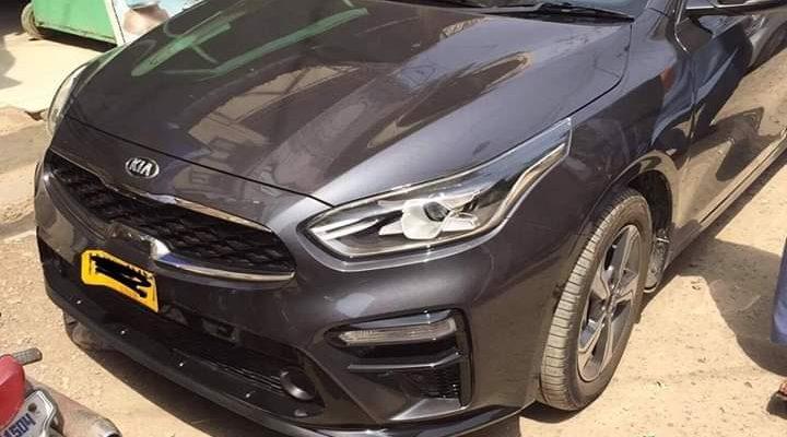 Kia Cerato Sedan Spotted in Karachi 2
