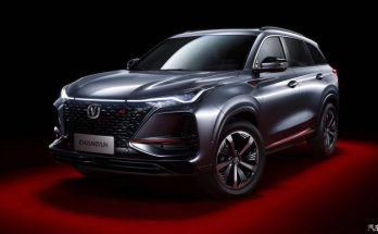 First Official Photos: Changan CS75 Plus SUV 8
