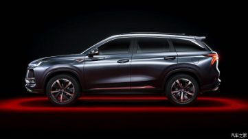 First Official Photos: Changan CS75 Plus SUV 7