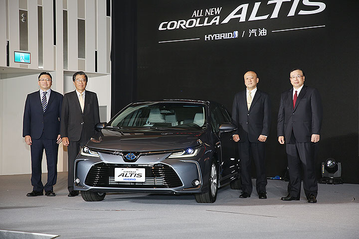 2019 Toyota Corolla Altis Launched in Taiwan 1