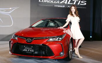 2019 Toyota Corolla Altis Launched in Taiwan 11