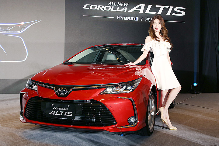 2019 Toyota Corolla Altis Launched In Taiwan Carspiritpk