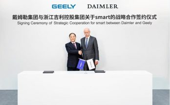 Geely and Daimler to Jointly Build Smart Cars in China 11
