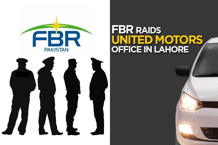 FBR Raids United Motors Office in Lahore 1