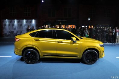 Geely Officially Unveils the FY11 Xingyue Coupe SUV 4