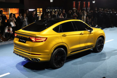 Geely Officially Unveils the FY11 Xingyue Coupe SUV 5