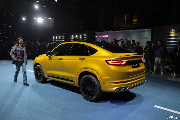 Geely Officially Unveils the FY11 Xingyue Coupe SUV 7