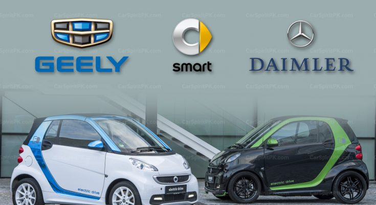 Geely to Buy Half of Smart Unit from Daimler 1