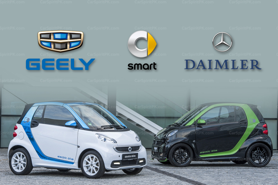 Geely to Buy Half of Smart Unit from Daimler 3