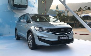 Geely Launches its First MPV- JiaJi in China 1