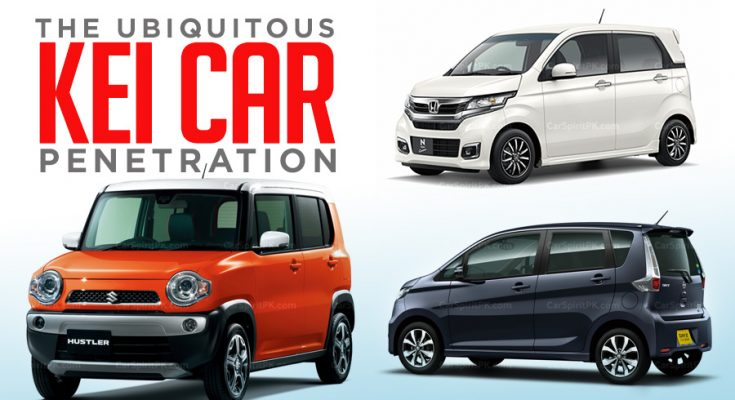 Ubiquitous Kei Car Penetration 1