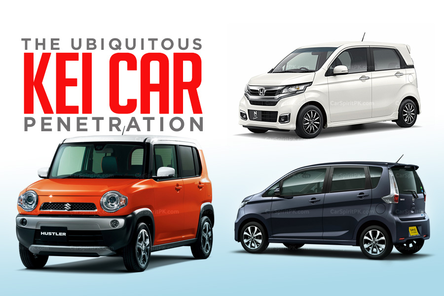 Ubiquitous Kei Car Penetration 5