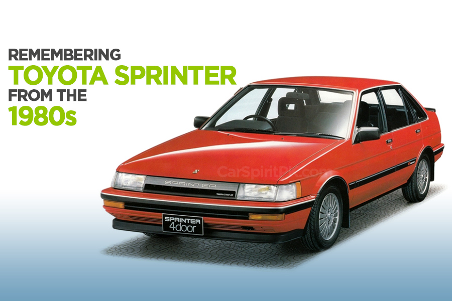 Remembering the Toyota Sprinter 10