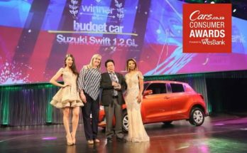 Suzuki Swift Wins Best Budget Car Award in South Africa 1