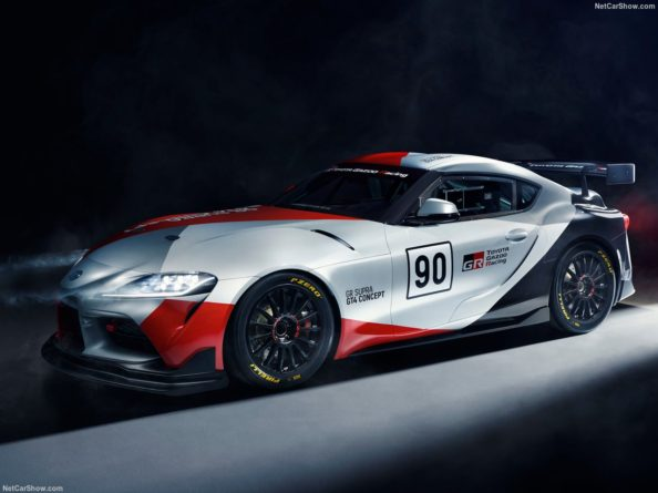 Toyota GR Supra GT4 Concept Revealed Ahead of Geneva Auto Show 6