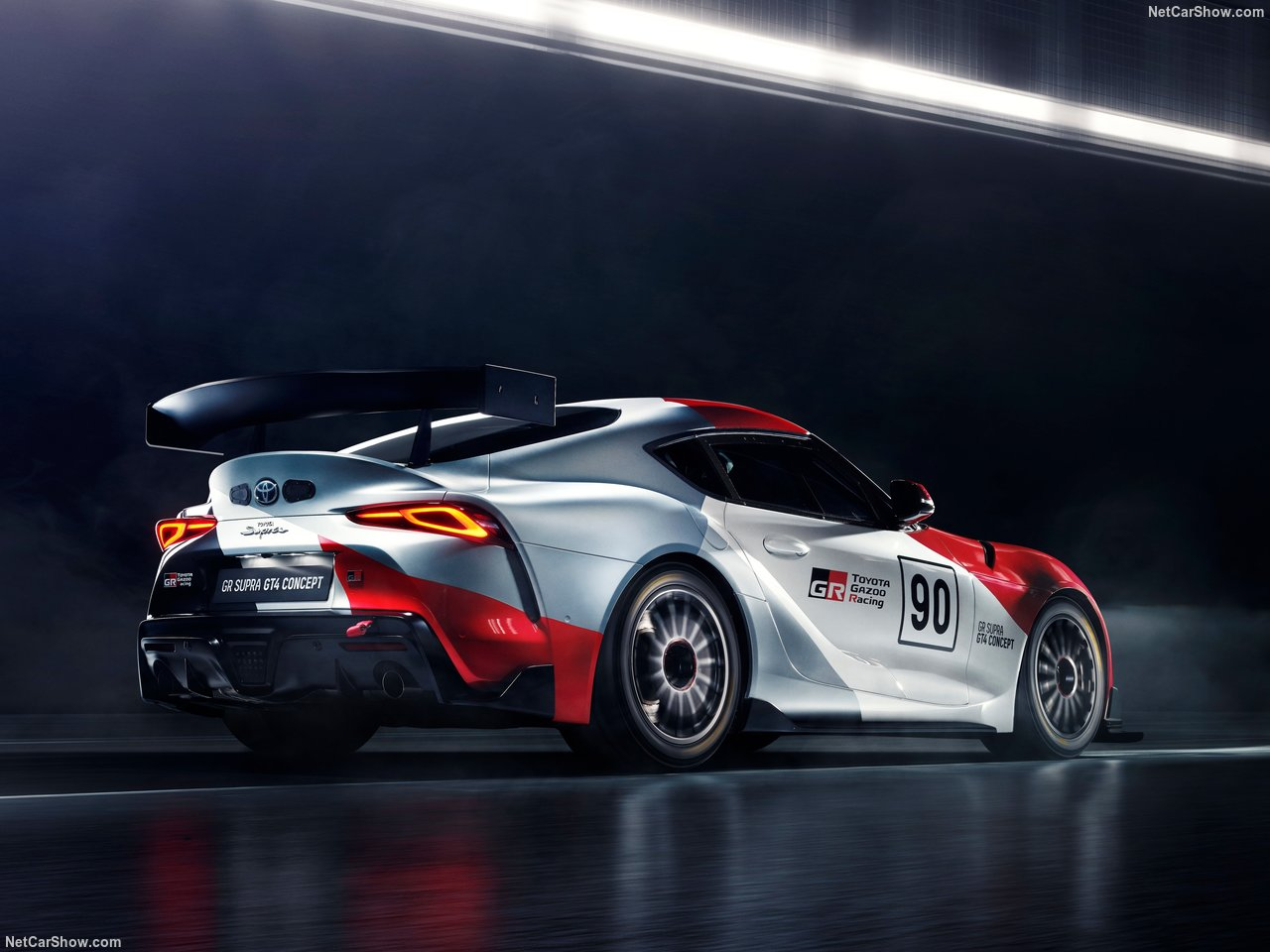 Toyota GR Supra GT4 Concept Revealed Ahead of Geneva Auto Show 1
