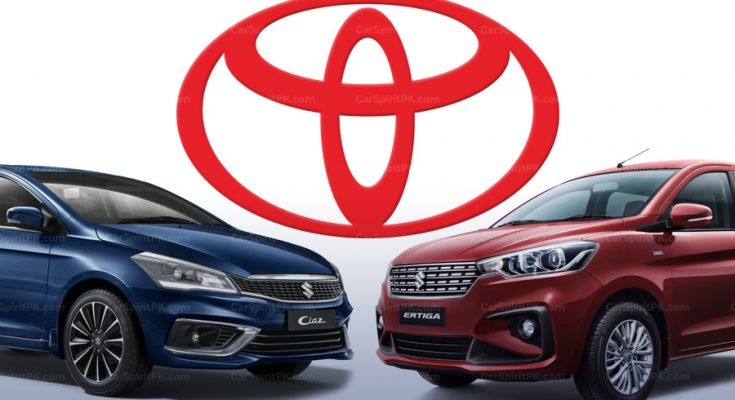 Toyota Ciaz and Ertiga Confirmed for India and African Markets 1
