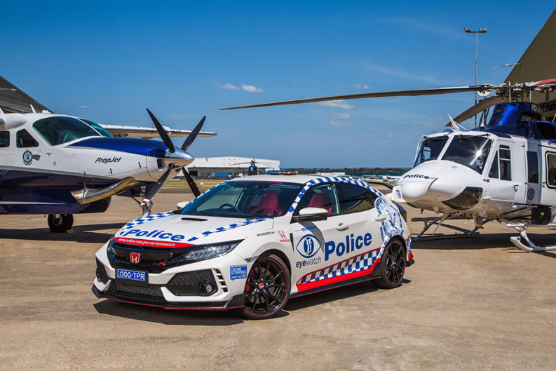 Honda Civic Type R Joins the NSW Police Force 1