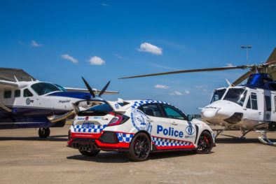 Honda Civic Type R Joins the NSW Police Force 2
