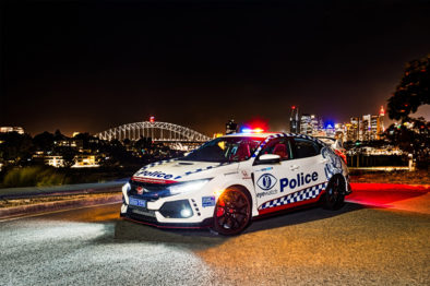 Honda Civic Type R Joins the NSW Police Force 3