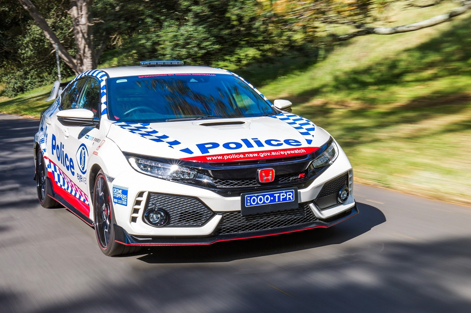 Honda Civic Type R Joins the NSW Police Force 8