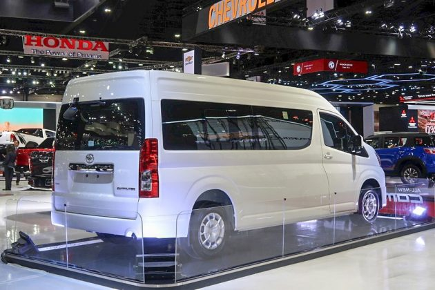 2019 Toyota HiAce Commuter at Bangkok International Motor Show 9