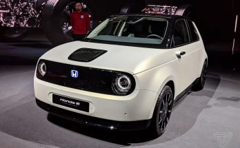 Retro Styled Honda E Prototype Unveiled at Geneva 4