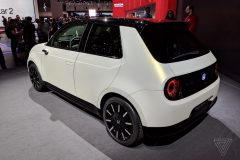 Retro Styled Honda E Prototype Unveiled at Geneva 9